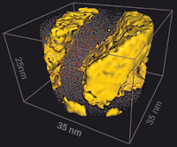 Three-dimensional atom probe image